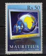 MAURICE Mauritius 2007 UPU Congress - Kenya 2008.MNH - Mauritius (1968-...)