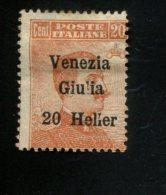ITALIE FIUME MET SCHARNIER  AVEC CHARNIERE HINGED MIT FALZ YVERT 31 - 8. WW I Occupation