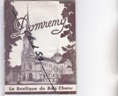 DOMREMY (88) La Basilique Du Bois Chenu -Petit Livre De 18 Pages -nombreuses Photos  ,papier Glacé. - Culture