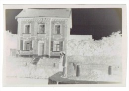 Lot De 2 - Négatif Photo - Pont-à-Celles - LUTTRE - L´ Ecluse N° 11 - Maison De L´ éclusier Et Vue Sur Le Canal  (4117) - Andere