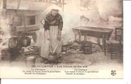 EN LIMOUSIN  LOU PAIZAN DE CHA NOU  Les Chataignes,le Matin De Bonne Heurela Grand Mere Blanchi Les Chataignes - Personnages