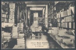 CPA 59 - Lille, Librairie René Giard - 2, Rue Royale - Lille