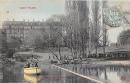 ¤¤  -  907   -  PARIS   -  Buttes-Chaumont  -  Traversée Du Lac    -   ¤¤ - Arrondissement: 19