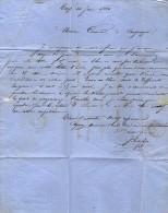 VP3431 - Lettre De Mr J. GISCHIX Entrepreneur De Travaux Public à DAX Pour Mr Le Chef Des Carrières De CAMPAGNE - Bookmarks