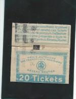 Tickets - Des Transports Parisiens. T-103 - Transportation Tickets