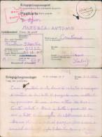 Pr118 - Prigioniero Di Guerra-power Camp-germania-per Controne-salerno - Guerre 1939-45