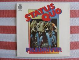 MUSIQUE - VINYL 33 TOURS - STATUS QUO - PILEDRIVER - LP - 1972 - PHONOGRAM/ VERTIGO 9102 009 - EXCELLENT ETAT - Discos De Vinilo
