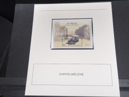 SAINTE HELENE -  Bloc Luxe Avec Texte Explicatif - Belle Qualité - À Voir -  N° 11700 - Sainte-Hélène