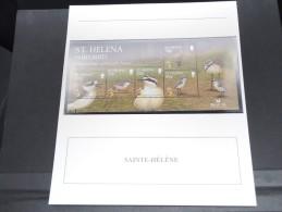 SAINTE HELENE -  Bloc Luxe Avec Texte Explicatif - Belle Qualité - À Voir -  N° 11701 - Sainte-Hélène