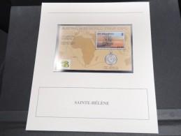 SAINTE HELENE -  Bloc Luxe Avec Texte Explicatif - Belle Qualité - À Voir -  N° 11702 - Sainte-Hélène
