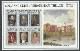 """Falkland BF N° 21A XX  """"Stamp Show 2000"""", Exposition Philatrélique Mondiale à Londres, Le Bloc Sans Charnière, TB - Islas Malvinas"""