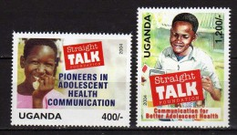 Uganda 2004 Straight Talk Foundation - Adolescent Health.MNH - Uganda (1962-...)