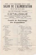 Charleroi ,2 E Salon De L'alimentation , 1933  (publicité Gaston Marchand WAVRE,réchaud) - Alimentaire