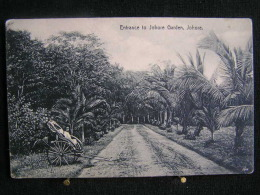 W - 128 -  Singapour - Entrance To Johore Garden - Pas Circulé - Singapour