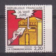 """FRANCE / 1988 / Y&T N° 2510 ** : """"Communication/BD"""" (Forest) BdC - Gomme D'origine Intacte - France"""
