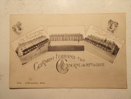 Carte Postale - CLERMONT FERRAND (63) - Caserne Du 92ème De Ligne - Multi Vues (103/120) - Clermont Ferrand