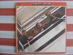 MUSIQUE - VINYL 33 TOURS - THE BEATLES / 1962-1966 - 2LP - 1973 FRANCE - APPLE 2C162 05307/8 - BON ETAT - Vinyles