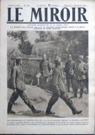 LE MIROIR N° 198 / 09-09-1917 VERDUN MORT-HOMME ALBERT THOMAS AMBULANCIER VON WINKLER CARSO HERMADA CHAUNY BLÉRAUCOURT - War 1914-18