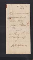 Faltbrief Greussen 1842 - Duitsland