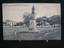 W - 130 -  Singapour -  Monument Of Sir Stamford Raffles - Pas Circulé - Singapour