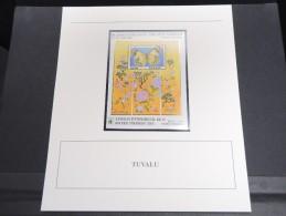 TUVALU -  Bloc Luxe Avec Texte Explicatif - Belle Qualité - À Voir -  N° 11714 - Tuvalu