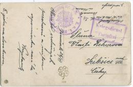 KRIEGSDIENST PORTOFREI + KuK Mobiles Reservespital Nr. 3./2. Auf Muttich Sulamit Jugendstil Ansichtskart Um 1916 - 1850-1918 Imperium