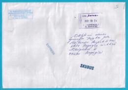 Lithuania Litauen Sent From Marijampole 2012  Courier Mail - Lituania
