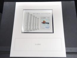 ZAIRE -  Bloc Luxe Avec Texte Explicatif - Belle Qualité - À Voir -  N° 11725 - Zaïre