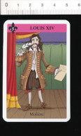 Humour Epoque Louis XIV - Molière Théatre / Ecriture Plume D'oie / Histoire De France // IM 126/48-B - Old Paper