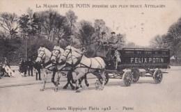 ATTELAGES  CHEVAUX  FELIX POTIN - Transportation