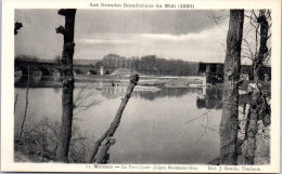 82 MOISSAC --- Crue De 1930 - Le Pont Cacor - Moissac