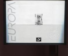 Belgie 2001 Europa CEPT 2989 WATER  Zwart-wit Velletje OCB15€ - Black-and-white Panes