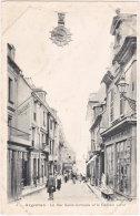 61. ARGENTAN. La Rue Saint-Germain Et Le Cadran Lerot. 5 - Argentan