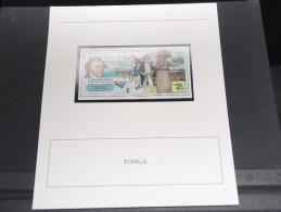 TONGA -  Bloc Luxe Avec Texte Explicatif - Belle Qualité - À Voir -  N° 11744 - Tonga (1970-...)
