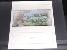 TONGA -  Bloc Luxe Avec Texte Explicatif - Belle Qualité - À Voir -  N° 11747 - Tonga (1970-...)