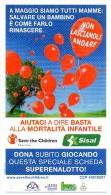 Biglietto Lotteria SUPER ENALOTTO  ...SERIE SPECIALI DA COLLEZIONE ANNI PASSATI NON PIU TROVABILI- PERFETTO - Non Classificati