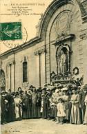 ROCHEFORT DU GARD - GARD   (30 )  - PEU COURANTE CPA TRES ANIMEE DE 1912 . - Rochefort-du-Gard