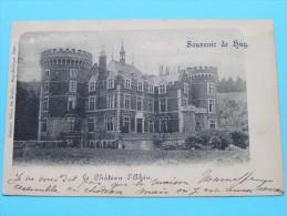 Souvenir De HUY Le Château D'Ahin ( Felix De Ruyter) Anno 1900 ( Zie Foto Voor Details ) !! - Hoei