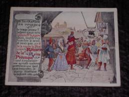 Joli Dépliant Publicitaire Illustré 1926 Rotisserie De La Reine Pédauque, Paris - L'Invitation Au Voyage - Publicités