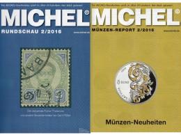 Rundschau MICHEL Briefmarken 2/2016 Neu 6€ New Stamps Of The World Catalogue/ Magacine Of Germany ISBN 978-3-95402-600-5 - Schede Telefoniche