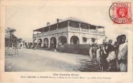 Gambie - The Gambia River, Etabl. Maurel & Prom's Factory At Bassé - Gambie