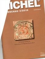 Briefmarken Rundschau MICHEL 3/2016 Neu 6€ New Stamps Of The World Catalogue/ Magacine Of Germany ISBN 978-3-95402-600-5 - Oude Documenten