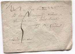 LSC Griffe Turnhout Taxée 5 Pour St.Nicolaes PR2763 - 1815-1830 (Dutch Period)