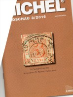 MICHEL Briefmarken Rundschau 3/2016 Neu 6€ New Stamps Of The World Catalogue/ Magacine Of Germany ISBN 978-3-95402-600-5 - Other Collections