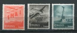 Roumanie ** PA 39 à 41 - Commémoration Du 1er Mai - Luchtpostzegels