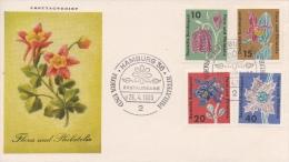 Fdc Deutsche 1963 - FDC: Enveloppes