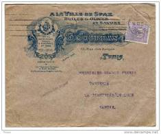 Tunisie. Lettre1928 Tarif Imprimé. Superbe Entête Sfax Huile Olive Olivier Oleicole, Savons - Unclassified