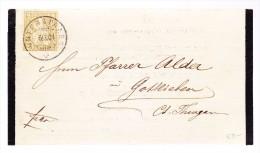 Heimat ZH UNTERSTRASS 6.9.1881 Trauer Brief Nach Gottlieben TG Mit 2Rp Sitzende - 1862-1881 Sitzende Helvetia (gezähnt)
