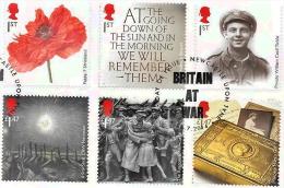 Great Britain - 2014 - THE GREAT WAR (6) -on Piece -   VERY FINE USED - 1952-.... (Elisabetta II)