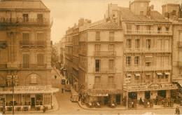 Dép 34 - Montpellier - Place De La Comédie - Entrée De La Rue Boussairolles -Café De La Bourse-Bar Du Brésil- Brasserie - Montpellier